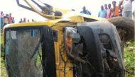 Uttar Pradesh: 7 children killed as school van collides with train in Bhadohi
