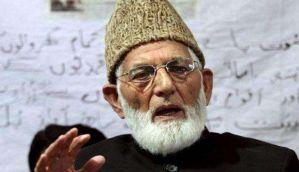 Kashmir unrest: Hurriyat leader Geelani detained during protest march towards Anantnag