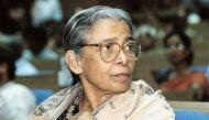 End of an era: Author, social activist Mahasweta Devi is no more