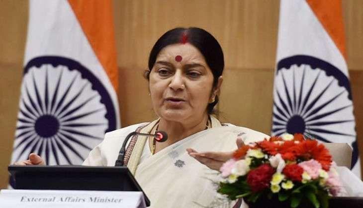 Delhi: Sushma Swaraj admitted to AIIMS hospital