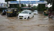 Heavy rains cripple life in Gurugram