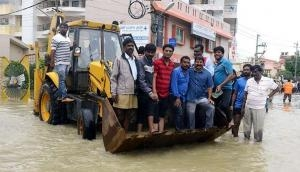 In pictures: how flood has brought Bangalore to a halt