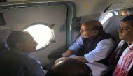 असम: बाढ़ से तबाही, गृहमंत्री राजनाथ सिंह ने किया हवाई सर्वेक्षण