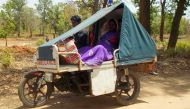 Baby delivery! Bike ambulance to ferry pregnant women from Bastar's hilly areas