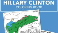 This Hillary Clinton colouring book is what faith in a politician looks like