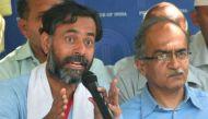 2 अक्टूबर को योगेंद्र यादव लॉंन्च करेंगे राजनीतिक पार्टी