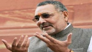 Delhi Elections 2020: AAP accuses Union Minister Giriraj Singh of distributing cash, liquor to influence voters