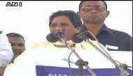 अहमदाबाद पहुंचकर मायावती ने बीजेपी पर बोला हमला, उना कांड के पीड़ितों से मिली