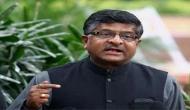 फेसबुक ने मानी गलती, अब राहुल गांधी भी मांगें माफी : रविशंकर प्रसाद