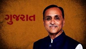 Gujarat CM Vijay Rupani performs 'Shastra Puja' at his residence