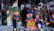 तस्वीरें: रियो ओलंपिक का शानदार आगाज, बिंद्रा ने की भारतीय दल की अगुवाई