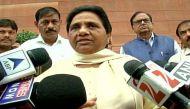 मायावती: दलितों के मुद्दे पर पीएम संसद के बाहर बोल सकते हैं, तो अंदर क्यों नहीं?