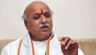 Modi government has forgotten Lord Ram: former VHP president Pravin Togadia