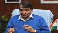 रेल मंत्री सुरेश प्रभु ने की चार नई पैसेंजर रेलगाड़ियों की घोषणा