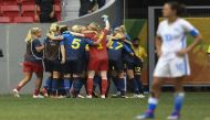 Rio 2016: Defending champions USA knocked out of women's football by Sweden