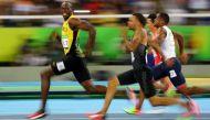 रियो ओलंपिक: 100 मीटर रेस में बोल्ट ने रचा इतिहास, लगातार तीन गोल्ड जीतने वाले पहले एथलीट