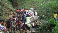 नेपाल: गहरी खाई में बस गिरने से 33 लोगों की मौत, 40 से ज्यादा जख्मी