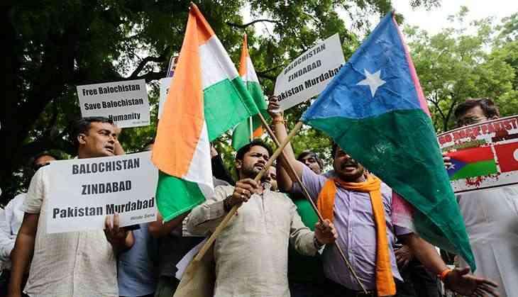 In pics: Hindu Sena organises bizarre event to 'free' Balochistan