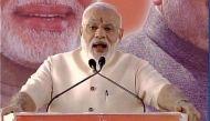 भाजपा मुख्यालय की आधारशिला रखते हुए पीएम मोदी ने कहा यह राष्ट्रहित को समर्पित है