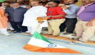 भाजपा की तिरंगा यात्रा बनी तिरंगा 'अपमान' यात्रा