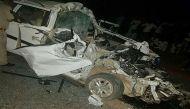 राजस्थान: धौलपुर में कार-ट्रक की भीषण भिड़ंत, 7 लोगों की मौत