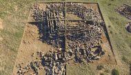 तस्वीरेंः कजाकिस्तान में मिला 3000 साल पुराना पिरामिड