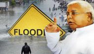 बाढ़ पर लालू का बेतुका बयान- 'भाग्यशाली हैं कि गंगा मइया आपके घर तक पहुंच गईं'