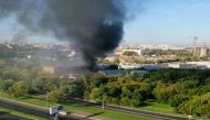 रूस: मॉस्को के वेयरहाउस में आग से 16 लोगों की मौत