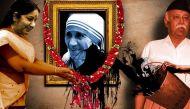 मदर टेरेसा को संत की उपाधि: सरकार वेटिकन सिटी भेजेगी प्रतिनिधिमंडल, क्या भागवत अफसोस जताएंगे?