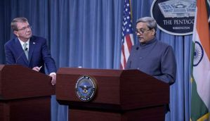India and US sign military logistic agreement boosting defence ties