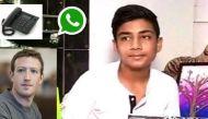 फेसबुक मुखिया मार्क जकरबर्ग को डीपीएस के छात्र ने दी मात, व्हॉट्सऐप से लैंडलाइन पर किया फोन