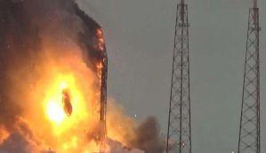 वीडियो: फेसबुक का सैटेलाइट तबाह, स्पेस एक्स फॉल्कन-9 रॉकेट में ब्लास्ट
