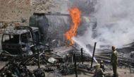 अफगानिस्तानः तेल टैंकर से टकराई बस, 38 की मौत