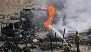 Over 100 burnt to death as oil tanker catches fire in Pakistan's Bahawalpur