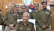 Watch: Uttar Pradesh Director General Javed Ahmed demonstrates the use of taser gun