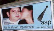 सीडी कांड: गोवा में संदीप कुमार के लगे आपत्तिजनक पोस्टर