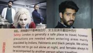 iZombie actor calls out Air China's racist safety tip, gets trolled by racists. Because logic