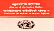 संयुक्त राष्ट्र चार्टर का संस्कृत में हुआ अनुवाद