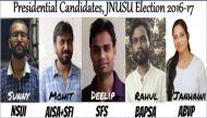 जेएनयू छात्रसंघ चुनाव: जानिए अध्यक्ष पद के लिए किसके बीच है टक्कर?