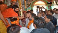 अयोध्या में कांग्रेस के 'युवराज' का 'तिलक', देखिए तस्वीरें