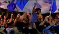 जेएनयू छात्र संघ चुनाव में लहराया वाम गठबंधन का झंडा, चारों सीटों पर किया कब्जा