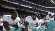 History repeats! US pro football players kneel during national anthem against oppression of blacks