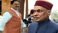 हिमाचल प्रदेश: भजपा पशोपेश में, मुख्यमंत्री पद का दावेदार कौन? धूमल या नड्डा