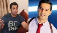 I will slap you....tells Salman Khan to Varun Dhawan