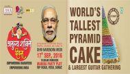 प्रधानमंत्री नरेंद्र मोदी के जन्मदिन पर कटेगा दुनिया का सबसे बड़ा केक