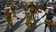 Kerala: Women 'tigresses' make history in Thrissur amid Onam celebration
