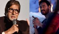 Not the first time, tweets Amitabh Bachchan on media reports over Ajay Devgn's 'first kiss' in Shivaay