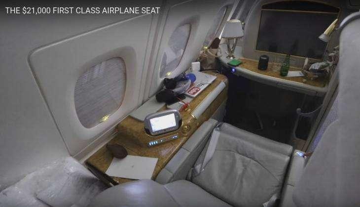 जानिए क्या होती हैं 14.50 लाख रुपये में फर्स्ट क्लास विमान यात्रा की खूबियां