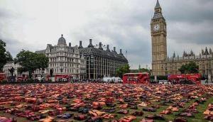 Graveyard of life jackets highlights grim reality at UN Migration Summit
