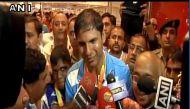रियो पैरालंपिक के हीरो देवेंद्र झाझरिया और वरुण भाटी का भारत लौटने पर जोरदार स्वागत